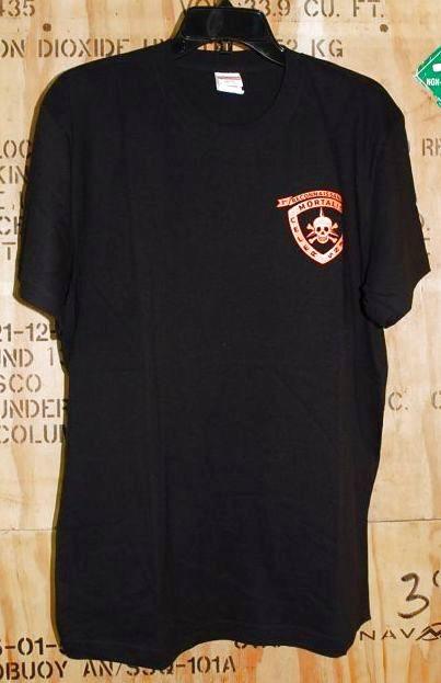 画像1: 海兵隊実物 沖縄フォースリーコン Tシャツ L (1)
