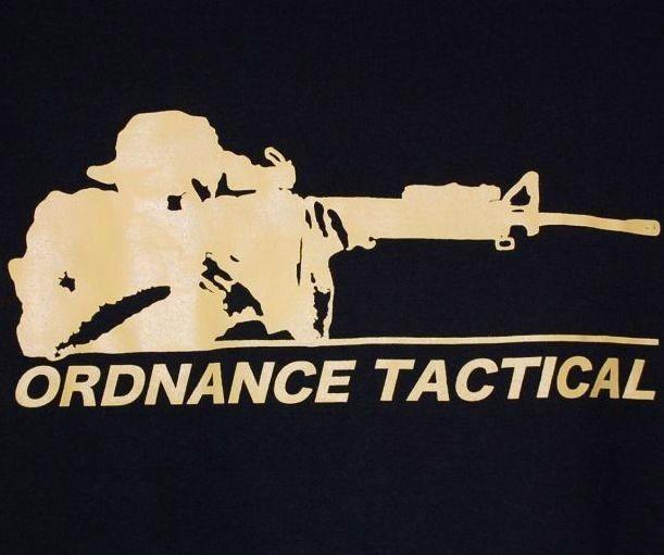 画像1: 沖縄オードナンス Tシャツ M ORDNANCE TACTICAL (1)
