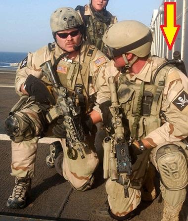 画像1: 海軍実物 SEAL UDT  スキューバ 非常脱出 酸素ボンベ  (1)