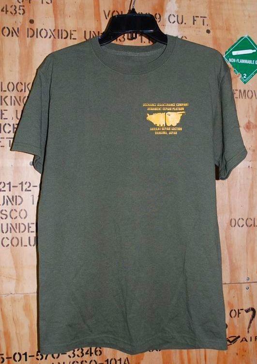 画像1: 米軍放出品,ORDNANCE MAINTENANCE COMPANY Tシャツ (1)