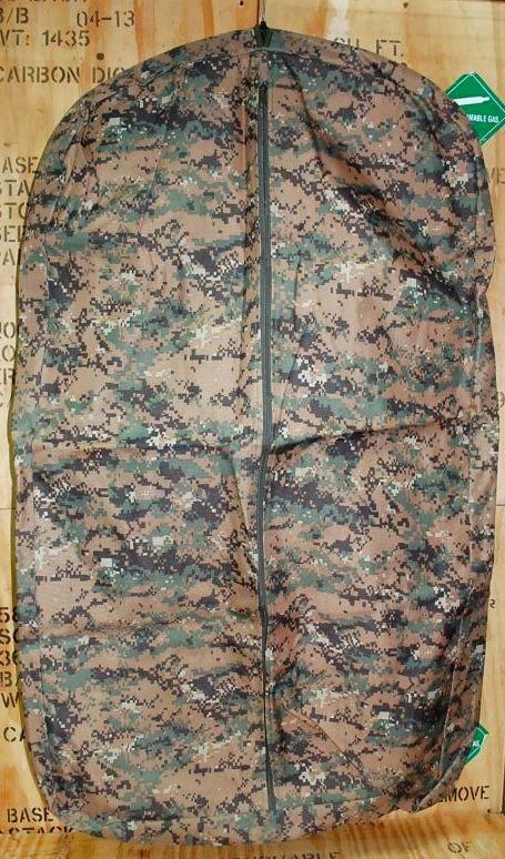 画像1: 米軍放出品.ピクセル柄 衣装ケース (1)