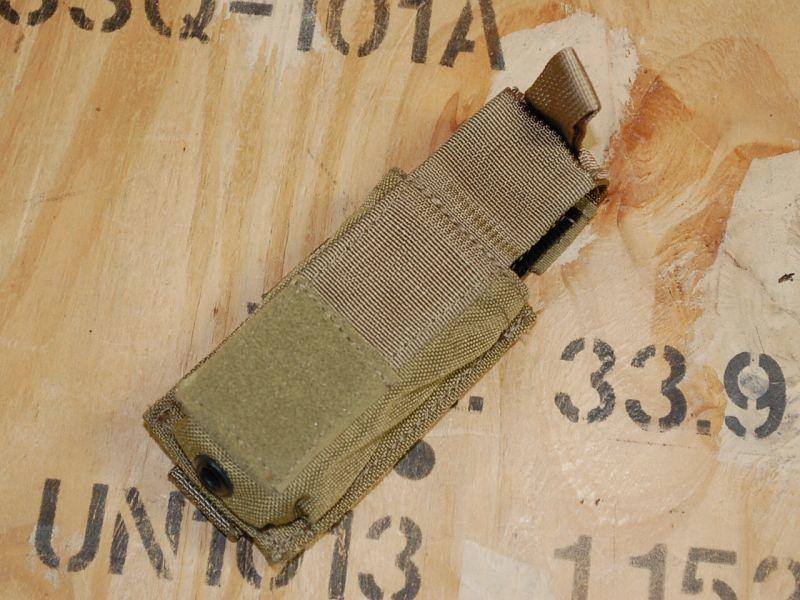 画像1: 米軍実物  EAGLE製 SFLCS シングル9mm ハンドガンマガジンポーチ /カイデックス  (1)