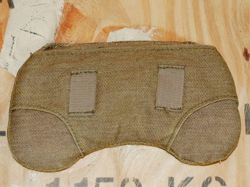 画像1: 米軍実物 ヘルメットネックパッド コヨーテ (1)