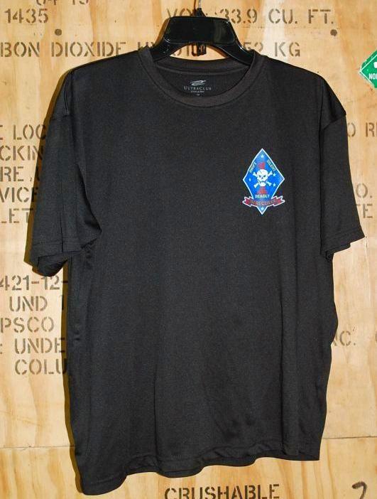 画像1: 米軍放出品 USMC 1st RECON Tシャツ M (1)