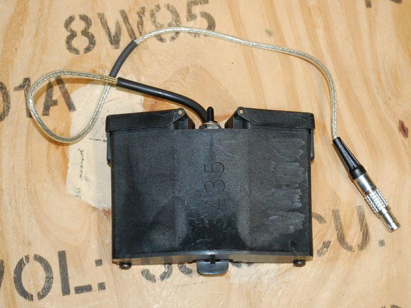 画像1: 米軍実物 ANVIS AVS-6/9 ロープロファイル  バッテリーボックス ウェイトセット (1)