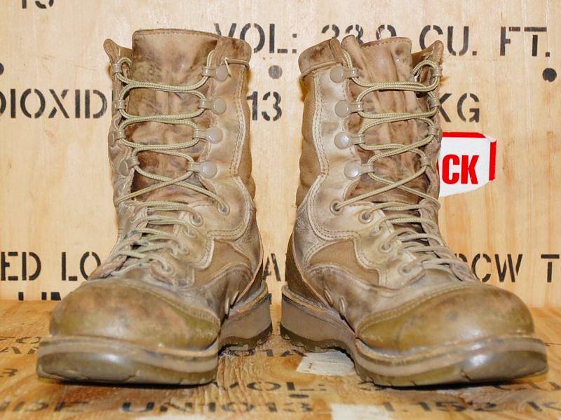 """画像1: 海兵隊実物 DANNER USMC RAT 8"""" MOJAVE  15676 6R (1)"""
