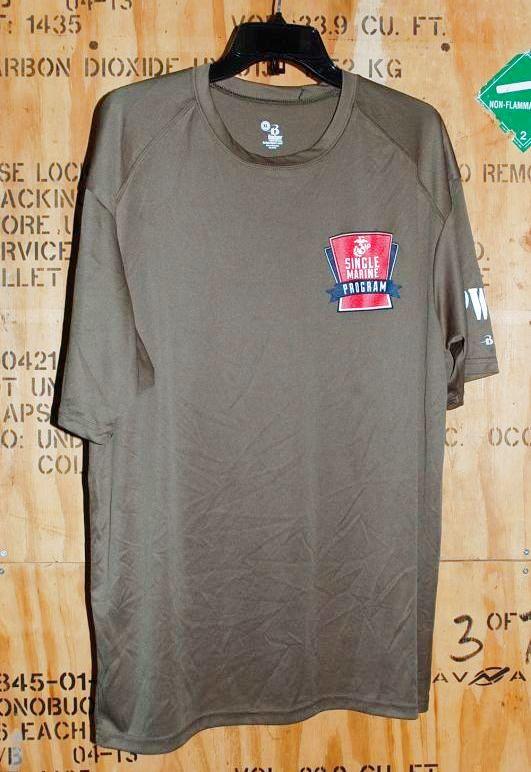 画像1: 米軍放出品 USMC Tシャツ XL (1)