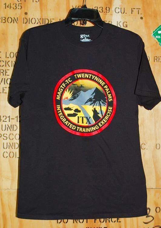 画像1: 米軍放出品 USMC MAGTF-TC Tシャツ M (1)