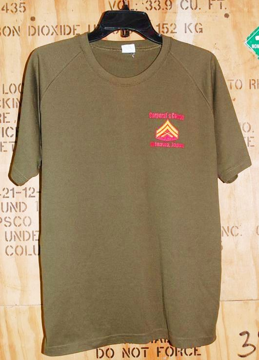 画像1: 米軍放出品 USMC Tシャツ (1)