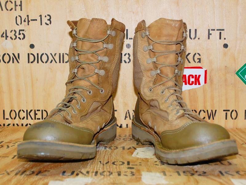 画像1: 海兵隊実物 DANNER USMC RAT HOT(HW) 15670X ブーツ 9.5R (1)