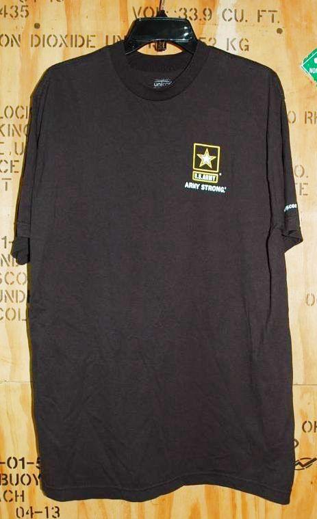 画像1: 米軍放出品,US ARMY Tシャツ XL (1)