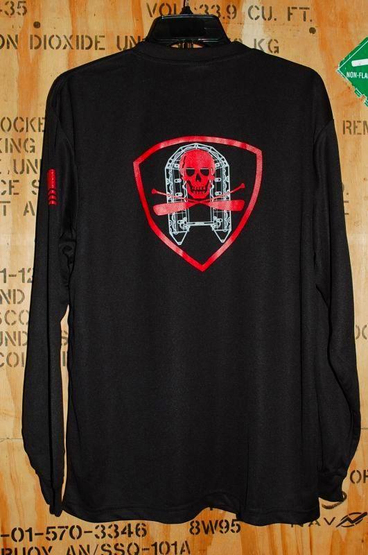 画像1: 海兵隊実物,AMPHIB LOCKER ロングスリーブTシャツ L  (1)