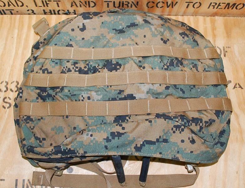 画像1: 海兵隊実物 ピクセル ILBEアサルトパック フラップ (1)