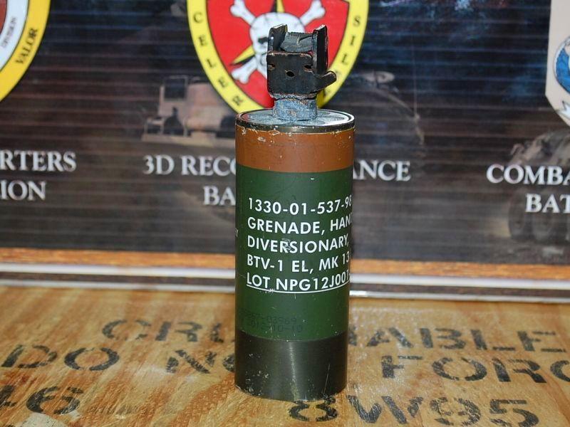 米軍実物 nico btv 1 flash bang grenade 部品 パーツ