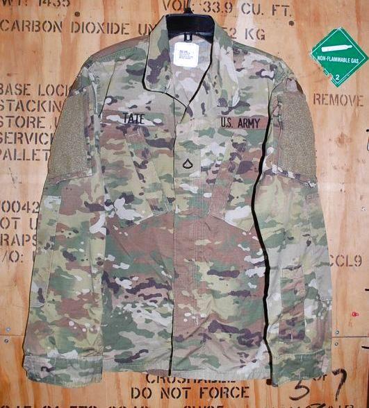 画像1: 米軍実物,米陸軍 ARMY  スコーピオン マルチカム ジャケット S-S (1)