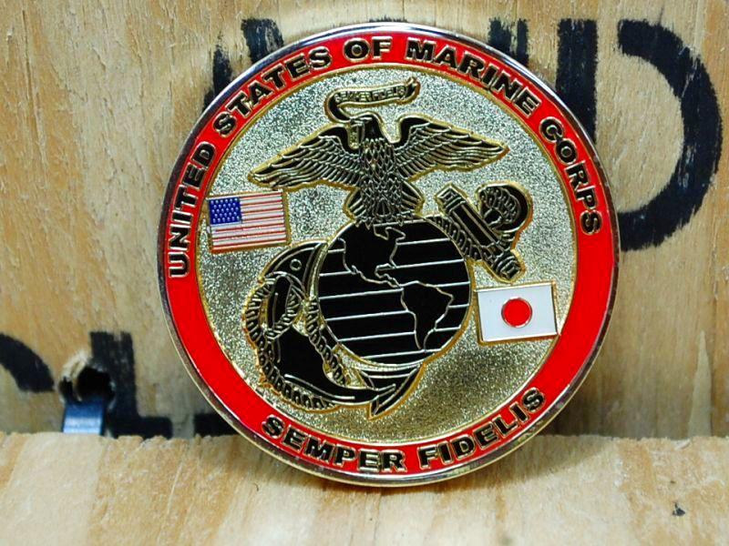 画像1: 海兵隊実物 USMC  (LCpl)  チャレンジコイン (1)