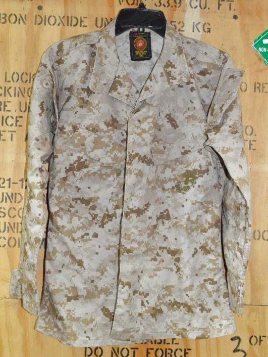 画像1: 米軍実物,USMC デザートマーパット ジャケット XS-XS (1)