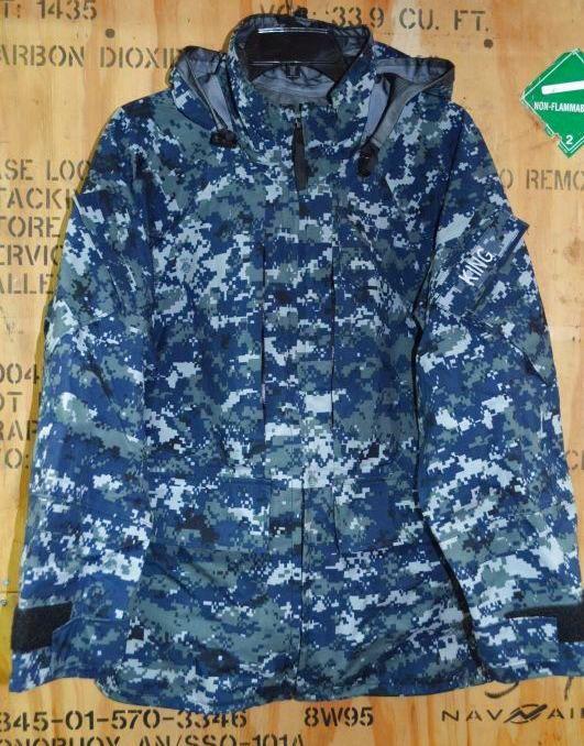 画像1: 米海軍実物 US NAVY GORE-TEX パーカー S-XS (1)