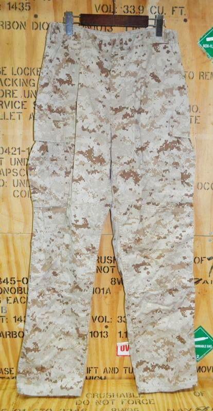 画像1: 米軍実物,USMC,デザートマーパットパンツ M-L (1)