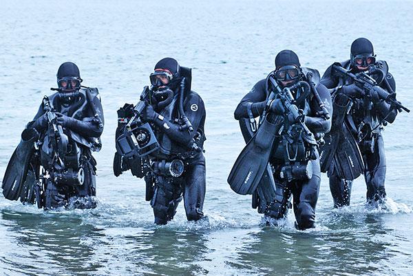 画像1: 米軍実物 NAVY SEALS  ダイビング ギア RECON (1)