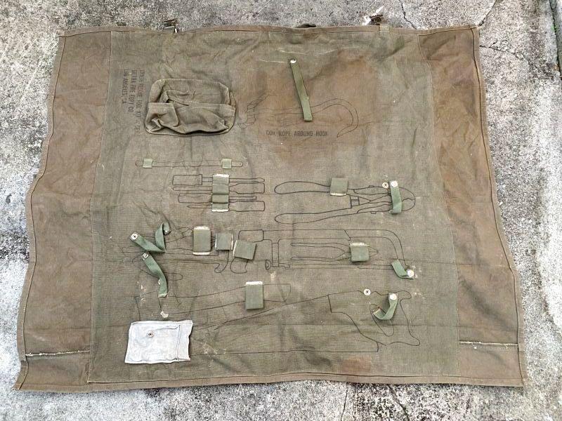 画像1: 米軍実物 クラッシュ レスキュー ツールロール (1)