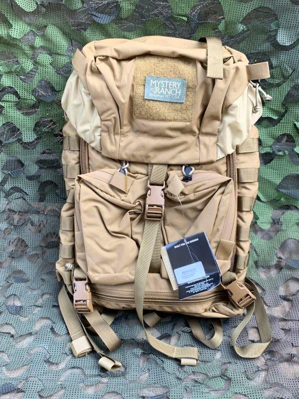 画像1: 米軍実物  MYSTERY RANCH MILITARY JUMP PACKS   メディックパック コヨーテ (1)