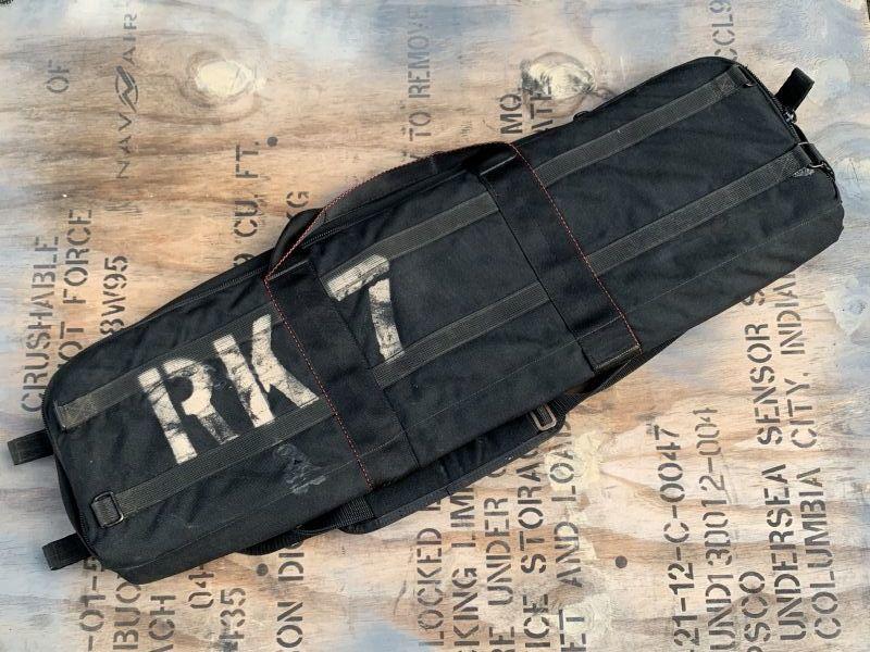 画像1: 米軍実物 EAGLE RK 7 CARRYING CASE (1)
