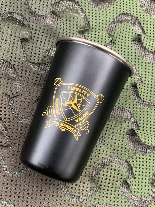 画像1: 米軍放出品 US MARINE ステンレススチールカップ (1)