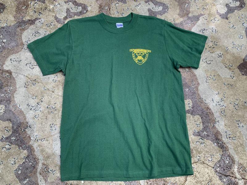 画像1: 米軍放出品 沖縄 フォースリーコン  Tシャツ  L  (1)