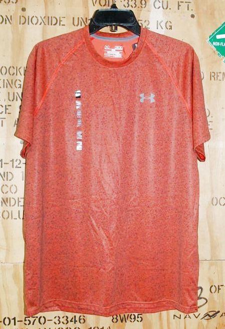 画像1: 米軍放出品 アンダーアーマーTシャツ heat gear MEDIUM (1)