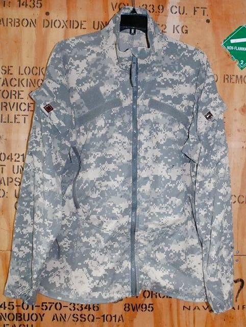 画像1: 米軍実物,JACKET WIND COLD WEATHER ACU M-R (1)