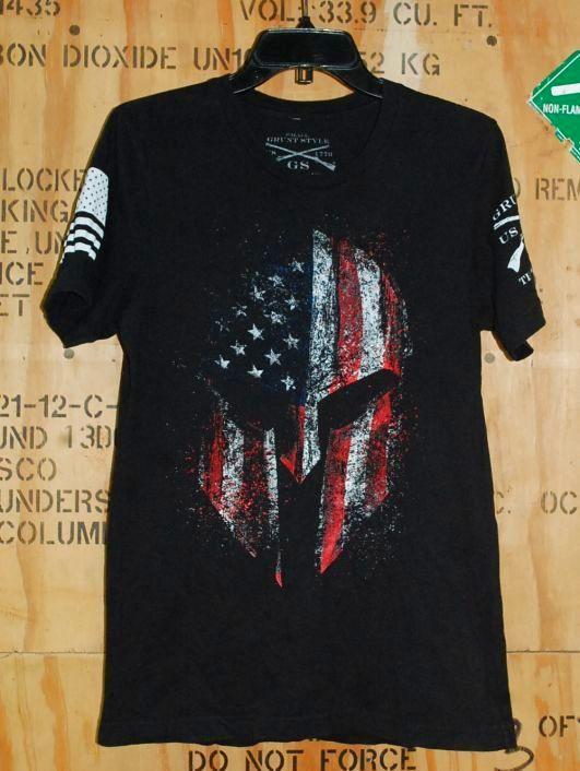 画像1: 米軍放出品 GRUNT STYLE Tシャツ SMALL (1)