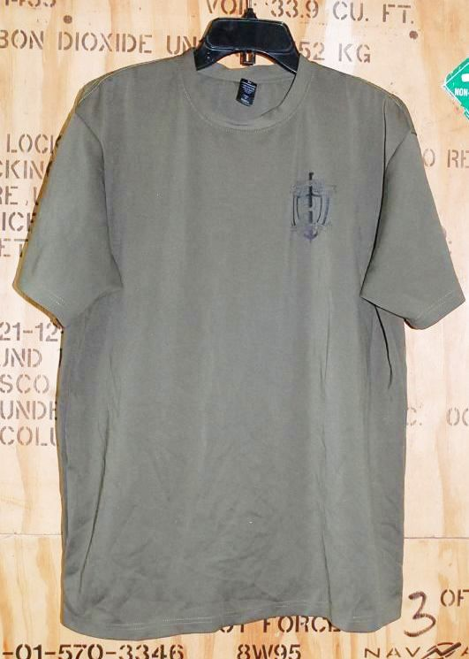 画像1: 米軍放出品 USMC FIRST BATTALION Tシャツ LARGE (1)