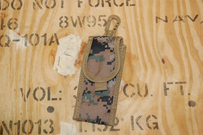 画像1: 米軍放出品 USMC ウッドランド ピクセル ポーチ (1)