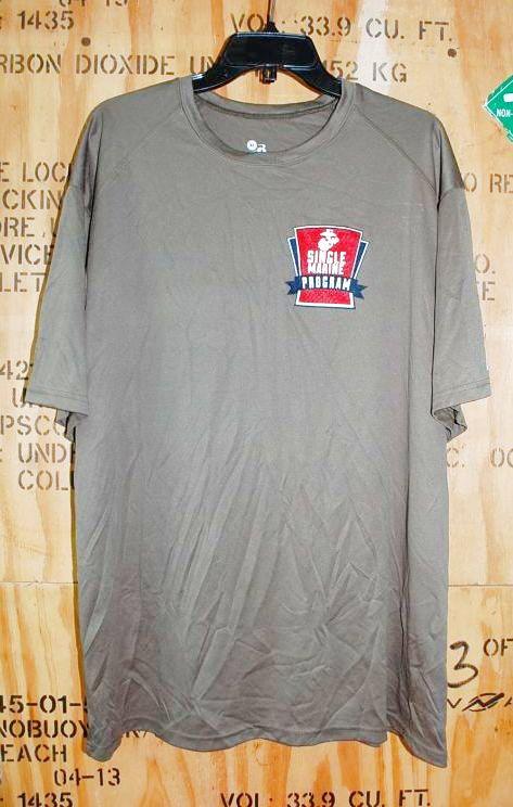 画像1: 米軍放出品 SINGLE MARINES Tシャツ X LARGE (1)