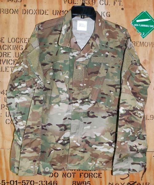 画像1: 米軍放出品,MOCEAN US ARMY マルチカムジャケット M-S スコーピオン (1)