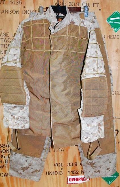 画像1: 海兵隊実物 オードナンス製 デザートマーパット ギリースーツ  M-SHORT (1)