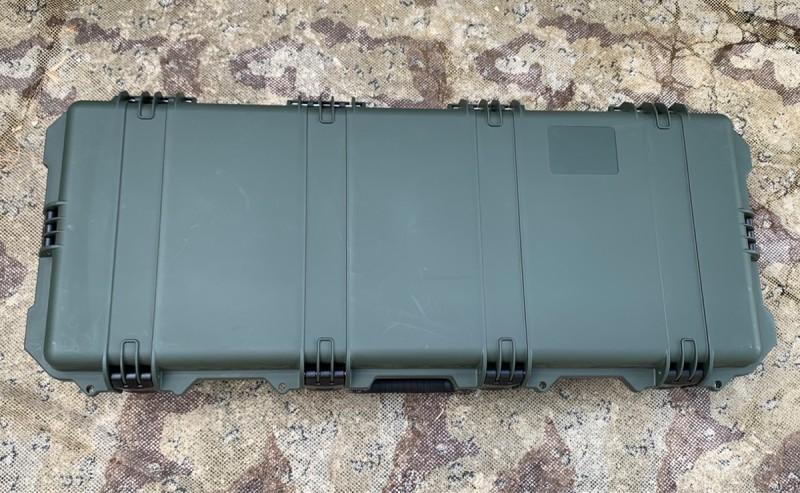 画像1: 海兵隊実物 ペリカンケース PELICAN iM3100 Storm Case  M4 ライフルケース (1)