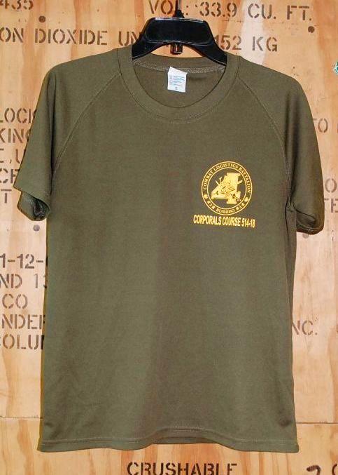 画像1: 米海兵隊実物 USMC CORPORAL OF MARINES Tシャツ SMALL (1)