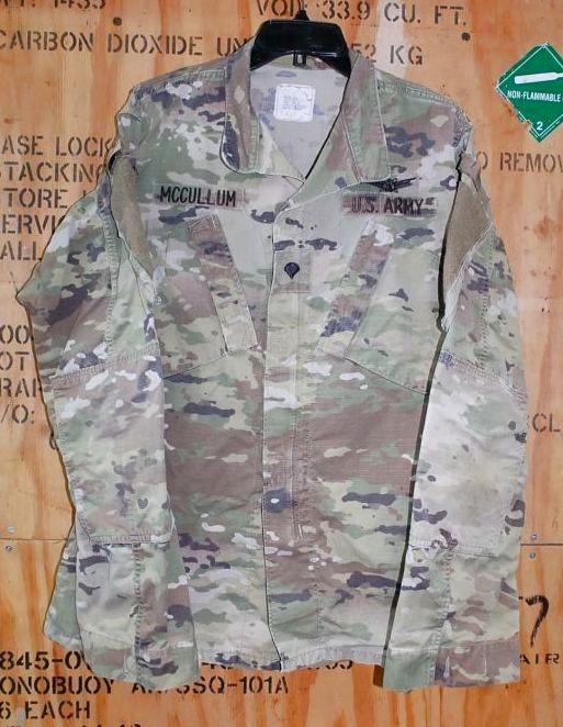 画像1: 米軍実物,米陸軍 ARMY  スコーピオン マルチカム ジャケット M-L (1)