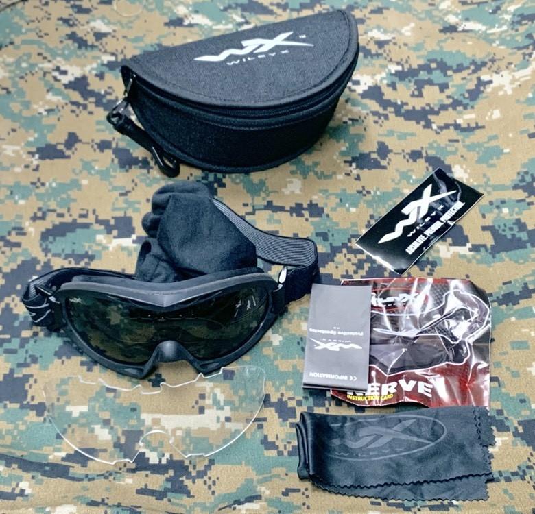 画像1: 米軍放出品 Wiley X タクティカルゴーグル ナーブ  (1)