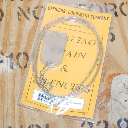 画像1: 米軍放出品 ドッグタグ アクセサリー (1)