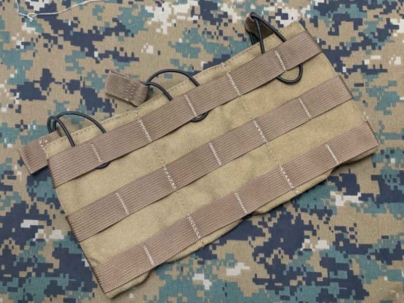 画像1: 海兵隊放出品 TAC SHIELD トリプル M4 マグパネル (1)