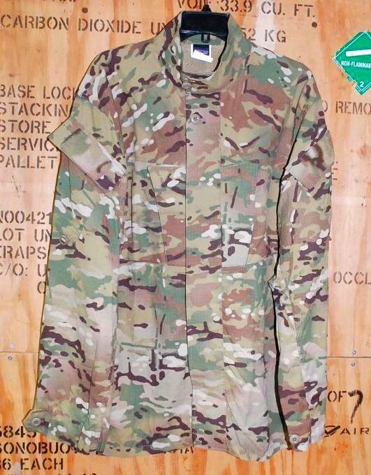 画像1: 米軍放出品,SOF VARIANT JUNGLE SHIRT マルチカム L-R (1)