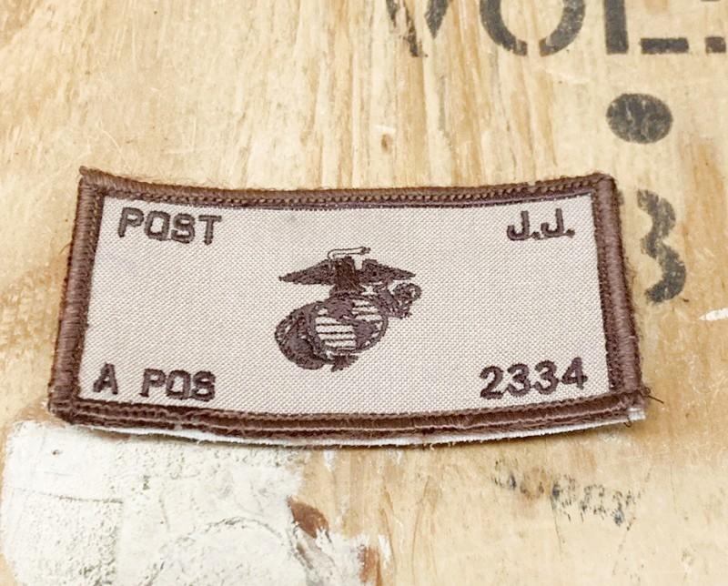 画像1: 海兵隊実物 US MARINE  ネームパッチ (1)