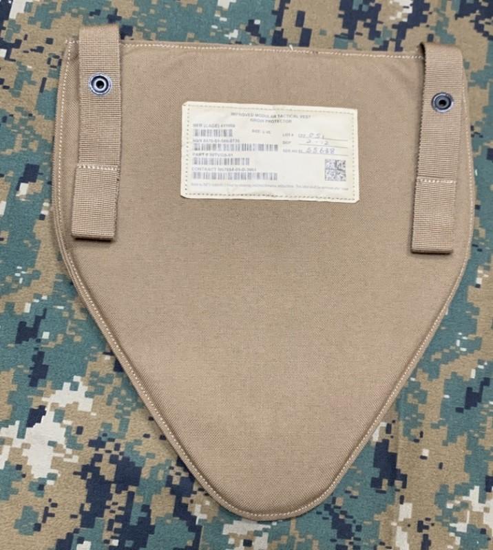 画像1: 米軍実物 IMTV グローインプロテクター コヨーテ   L-XL (1)