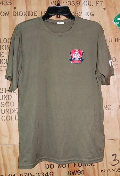 画像1: 米軍放出品 SINGLE MARINES Tシャツ LARGE (1)