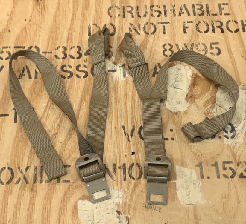 画像1: 米海兵隊実物 FILBE メインパック USMC クイックリリース ロアー ストラップ (1)