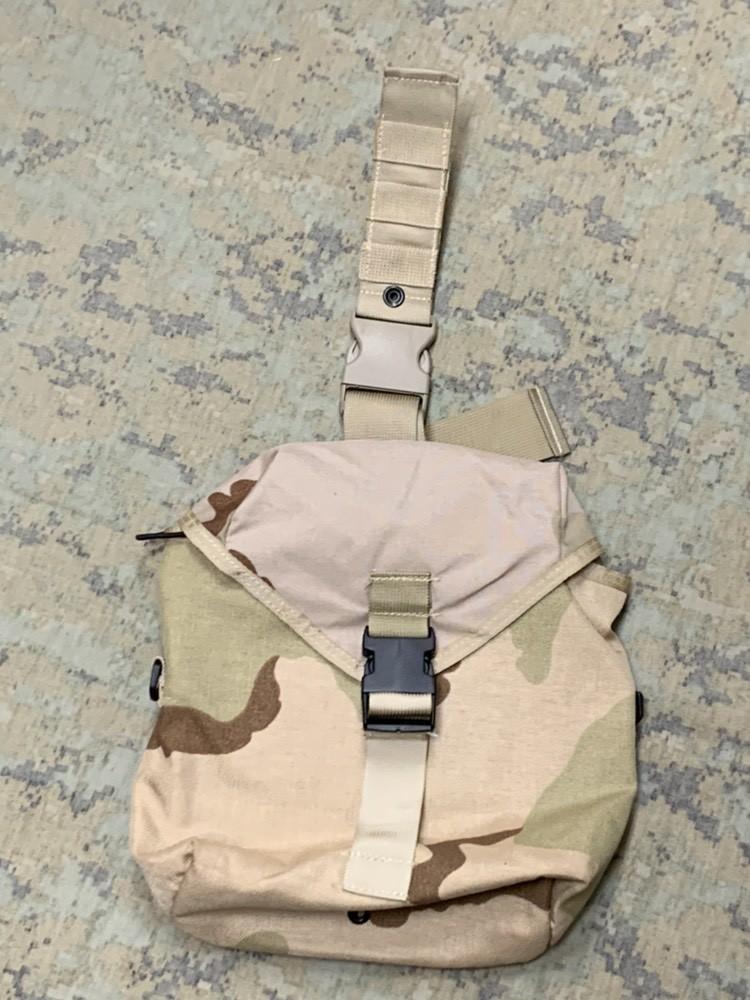 画像1: 米軍実物   レッグバッグ/アタッチメント ダンプポーチ (1)