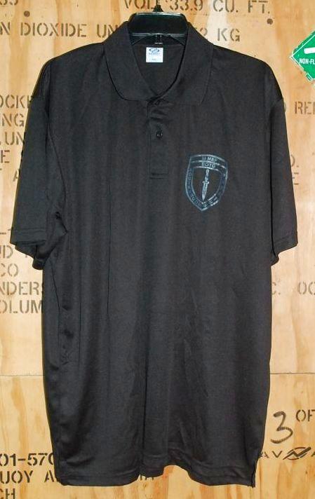 画像1: 沖縄海兵隊実物 EOTG INSTRUCTOR ドライポロシャツ XXL (1)